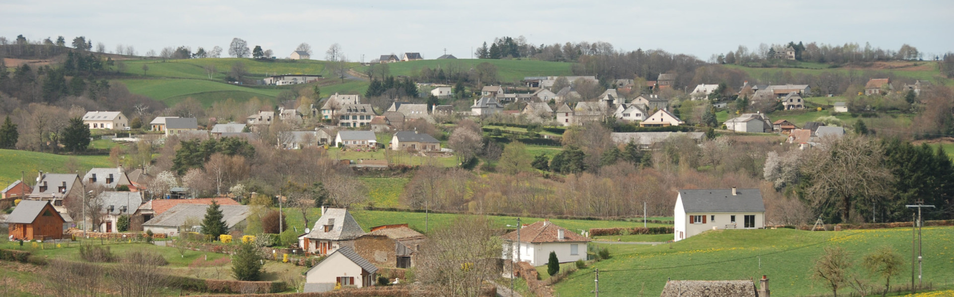 Teissieres ala campagne dans le Cantal